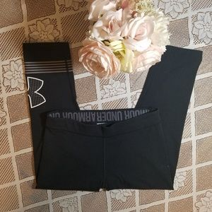 Under Armour Pants - Under Armor Cropped Athletic Leggings Size XS